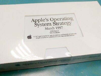 Apple's Operating System Strategy - March 1997 Videotape Videocassette VHS 90s