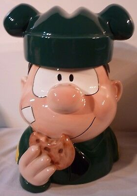 Enesco Sarge From Beetle Bailey Ceramic Cookie Jar King Features 2000