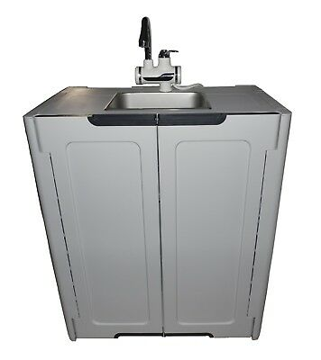Portable Sink/ Hand Wash Sink/ Self Contained Sink HOT Water L.Gray
