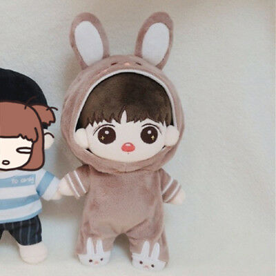 20cm/8'' KPOP BTS JUNGKOOK Plush Childhood Kook Doll Toy with Clothes Limited