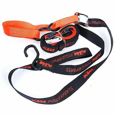 77512950200 KTM Spanngurteset mit Haken Soft Tie Downs With Hooks