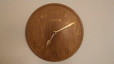 Oak Zenith Wall Clock