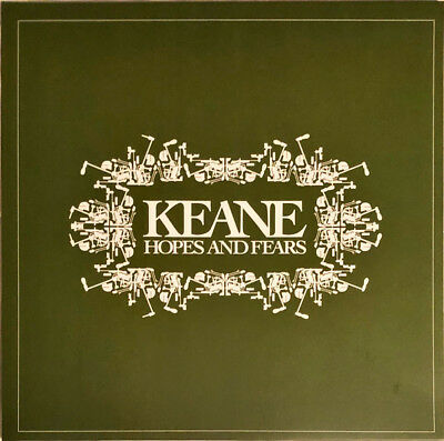 KEANE HOPE AND FEARS LP *EU* PRESS REMASTERED VINYL 180g ISLAND RECORDS New