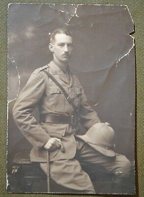 WWI ID'd British Soldier 4th Batt. Royal Scots Served in Africa