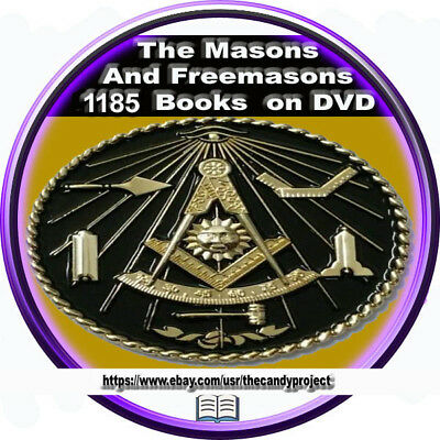 Freemason Mason Utimate 1185 Book 4 DVDs Origins Secret Fraternities Stonemasons