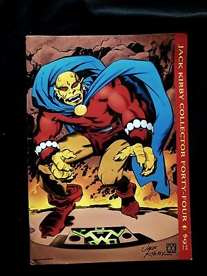 Jack Kirby Collector Magazine #44 FALL 2005 Vol 11 Over-sized Comic Art Book
