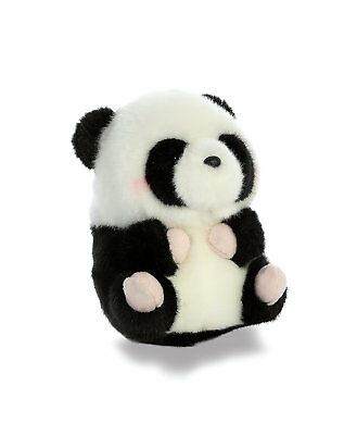 Aurora World Rolly Pet Precious Panda Plush Stuffed Animal Handmade In Indonesia