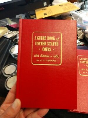 1965 A guide Book of US Coins 18th Edition Red Book By R.S Yeoman New Condition