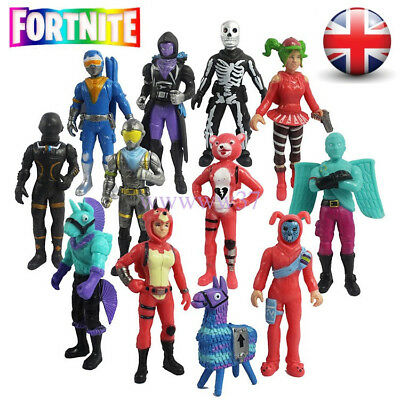 New 12Pcs/Set Fortnite Battle Game Royale Save The World Action Figures Kids Toy