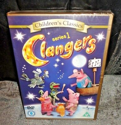 Clangers - Series 1 - Complete (DVD, 2005) SEALED FAST & FREE