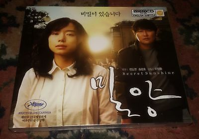 VCD SOUTH KOREA - Secret Sunshine (2007 - 밀양 - Miryang - Jeon Do Yeon )