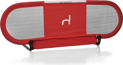 BabyHome Side Bed Safety BedRail, Red BH002