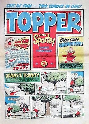 TOPPER & SPARKY - 21st OCTOBER 1978 (19 - 25 Oct) - YOUR WEEK OF BIRTH ?? VG+