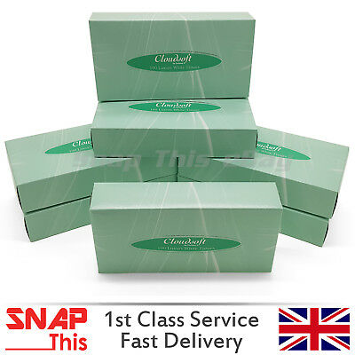 Tissue Boxes Ultra Soft Luxurious White Facial Family  Wipe Towel Hand Paper 100