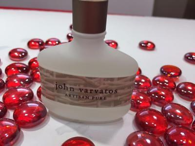 JOHN VARVATOS Artisan Pure EDT Splash 0.5oz/15mL Mini Mens Cologne - FREE SHIP