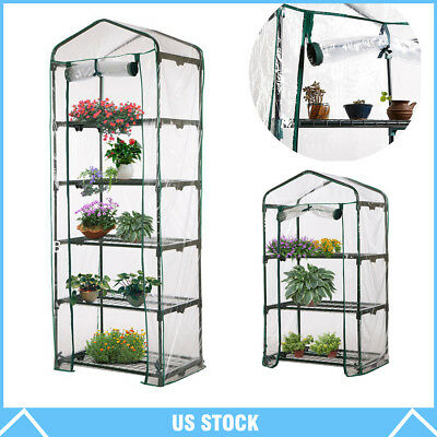 Garden Green House Mini Portable Outdoor Warm Greenhouse Flower Plants Gardening