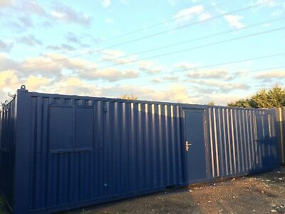 32x9ft  Anti Vandal Site Office / Portable Building / Site Cabin / Partitioned