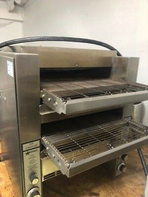 Star-Holman Model DT14 - Commercial Double Conveyor Toaster