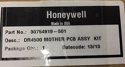 New Honeywell Truline Recorder Dr4500 Mother Board Kit 30754919-501