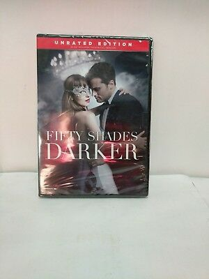 Fifty Shades Darker DVD - Romance Dakota JohnsoN Unrated Edition 2017