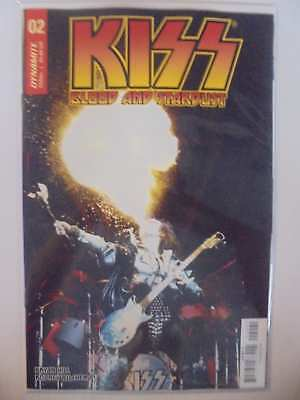 Kiss Blood and Stardust #2 D Cover Dynamite NM Comics Book