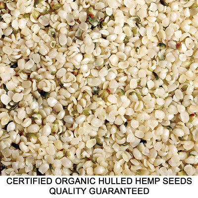 1kg HEMP SEEDS CERTIFIED ORGANIC HULLED BULK WHOLESALE AUSTRALIAN MANUFACTURER