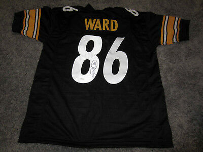 fcf20a74bb7 HINES WARD Pittsburgh Steelers Autographed SIGNED Jersey w/ TSE COA XL
