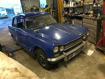 1969(H)Triumph Vitesse Mk2 For Light Restoration,man/od,same Owner Last 30 Yrs