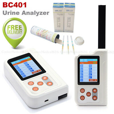 Handheld Urine Analyzer Clinic/Home Digital Urine Analyzer+100pcs Test strips