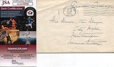 Grace Coolidge Autograph 1st Lady Wife Of President Calvin Signed Envelope