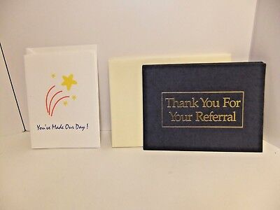 Business Thank You Note Cards w/envelopes