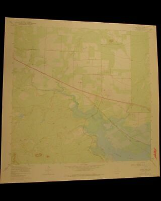 Mount Nebo Texas vintage 1978 original USGS Topographical chart