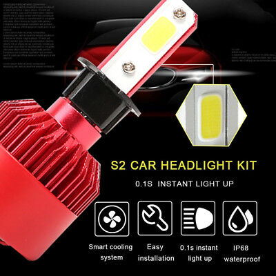 0015 S2 H3 Front Lamp LED Headlight Car Accessories Replacement Car Styling