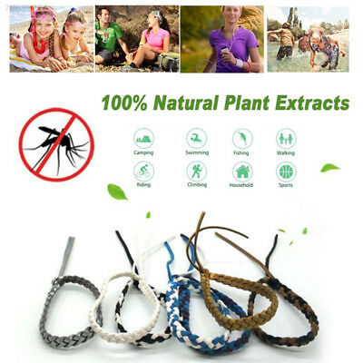 5C80 Weave Repellent Wristband Insect Repellent Bands Pest Summer Decorate