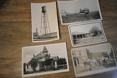 (5) Historical Antique Real Photo Postcards / West Texas New Mexico *Worldwide*