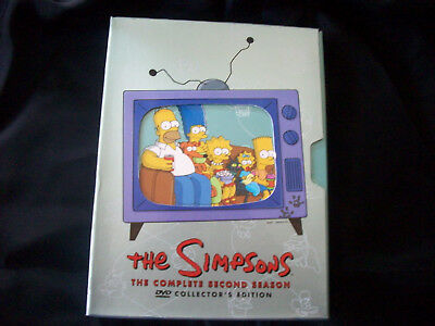 The Simpsons The Complete Second Season DVD Collectors Edition