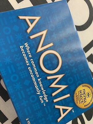 Anomia Card Game - As new!