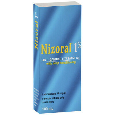 New Nizoral 1% Anti-Dandruff Shampoo 100mL