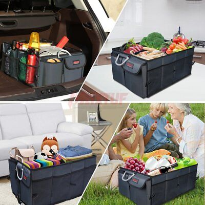 MAXTUF Sturdiest Car Trunk Organizer, Multipurpose Portable Storage Bin &Carrier
