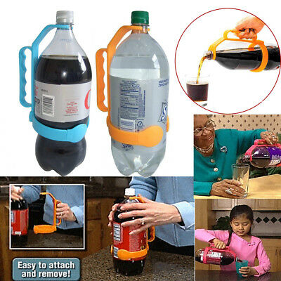 Universal Bottle Handle Adds Handle To 1 And 2 Liter Bottles Water Spout Bottle