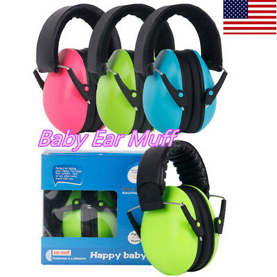 Baby Kid Safety Ear Muffs Noise Cancelling Headphones For Hearing Protection CVV