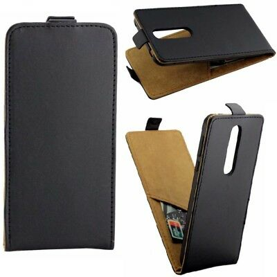 For Nokia 7.1 6.1 2 8 Sirocco 7 PLUS Up Down Flip PU Leather Card Slot TPU Case
