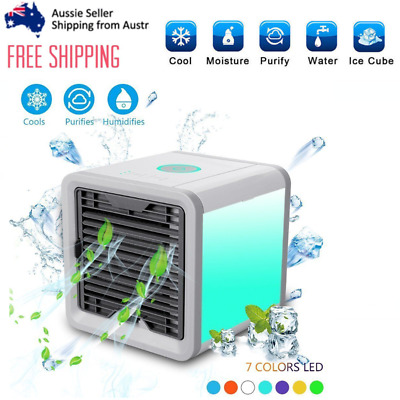 NEW Air Cooler Conditioner Cool Cooling For Bedroom Portable Mini Fan AU
