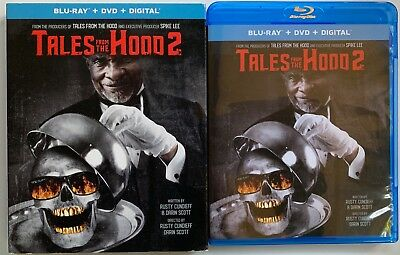 Tales From The Hood 2 Blu Ray Dvd 2 Disc Set + Slipcover Sleeve Free Shipping