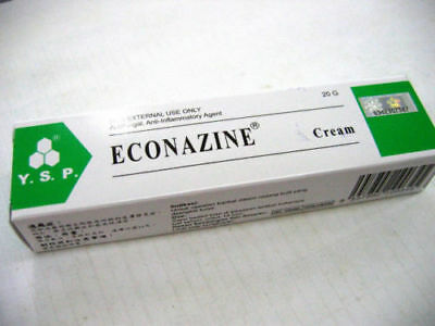 ECONAZINE Cream for Skin Allergies, Fungal Infection, Ringworm 20g x 1