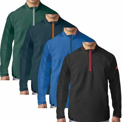 adidas GOLF CLIMACOOL® 1/4 ZIP COMPETITION SWEATER MENS GOLF PULLOVER COVER-UP