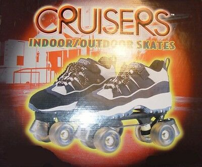 Cruisers Indoor/Outdoor Unisex Roller Skates by Nash Sports