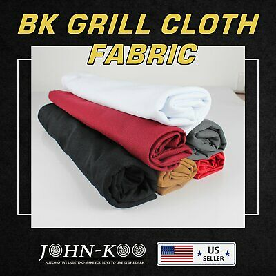 """15.2 Sq.ft Speaker Grill Cloth Fabric Stereo Mesh Upholstery Proof Dusty 40""""x55"""""""