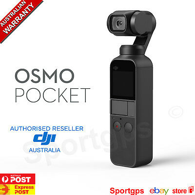 DJI OSMO POCKET Hand Held Stabilized Action Camera 3 Axis Gimbal 4K