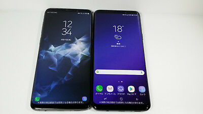 NTT-DOCOMO SC-03K SAMSUNG Galaxy S9+ 2 color set Non-working Display Phone